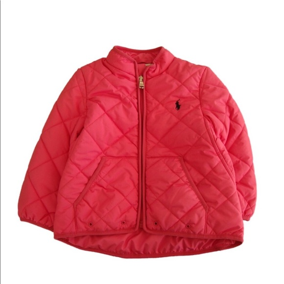 42ce06c5a Ralph Lauren Girl's Quilted Barn Jacket 🤱🏻. M_5a3d071261ca1006220195ed